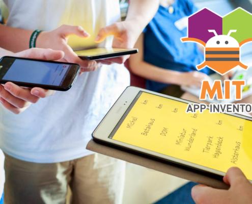 Apps entwicklen im Unterricht