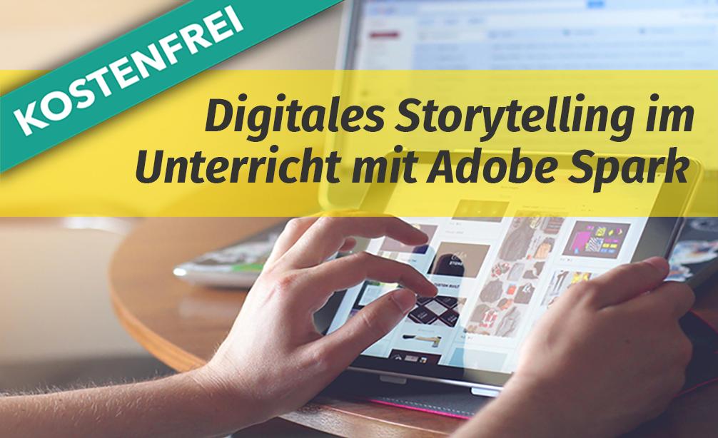 Online-Fortbildung Adobe Spark im Unterricht