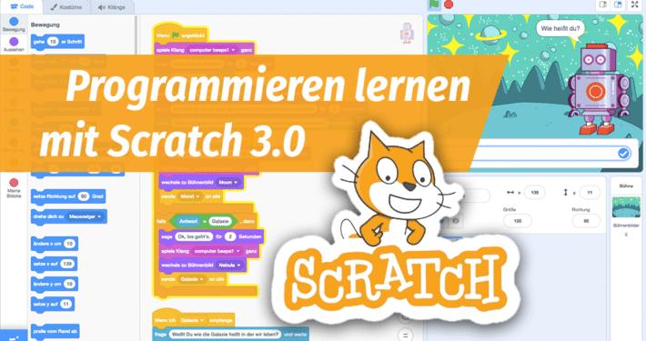 Online-Fortbildung Programmieren lernen mit Scratch 3.0