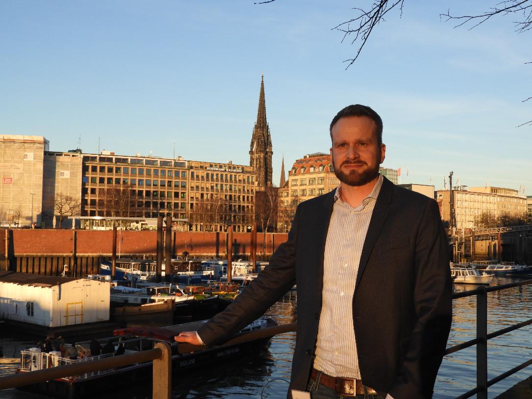 Marcus von Amsberg auf dem Digital Summit 2019 in Hamburg.