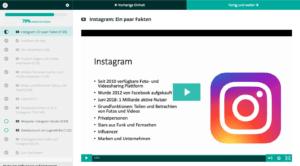 Instagram Fortbildung Überblick