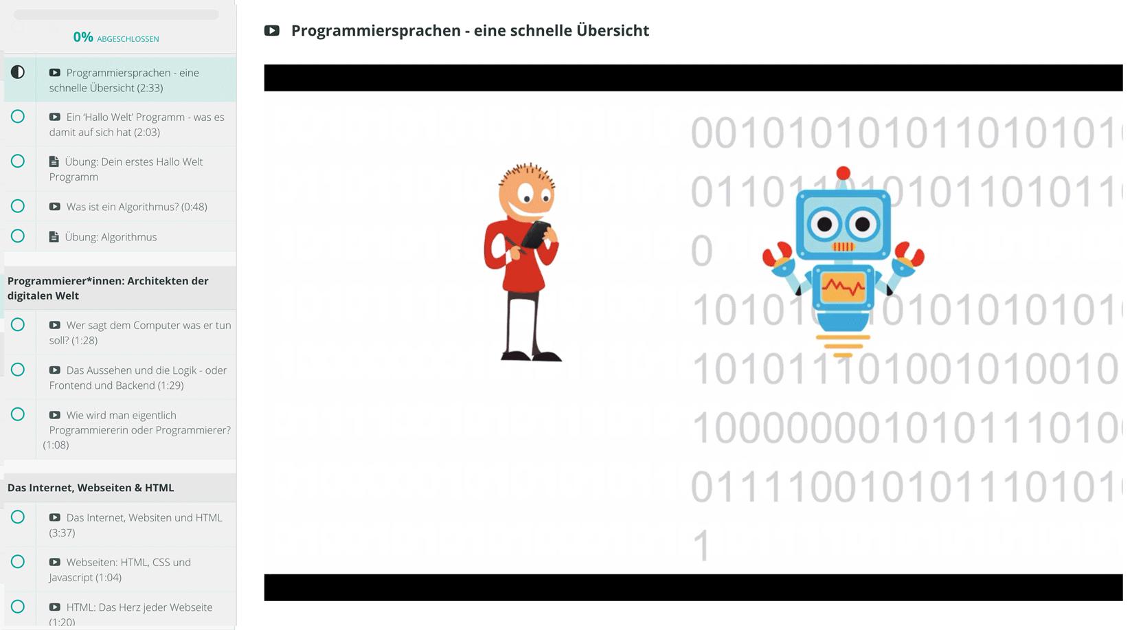 Informatik im Alltag - Code und Programmiersprachen