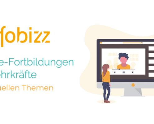 Fobizz Online-Fortbildungen für Lehrkräfte