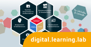 Logo digital learning lab Hamburg