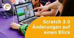 Schüler programmieren mit Scratch im Klassenzimmer