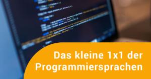 Programmiercode in einem Editor