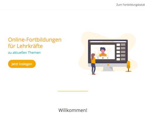 Fobizz Plattform Homescreen