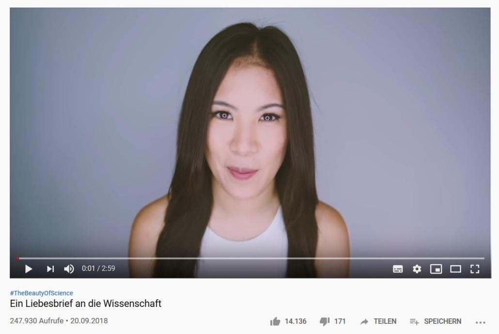 Screenshot eines Videos der Youtuberin Mai Lab