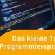 Programmiercode im Editor