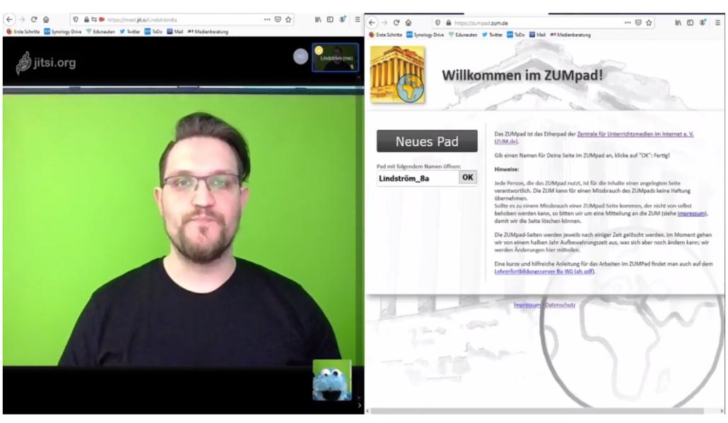 Jens Lindström stellt verschiedene Tools vor, die euch den Online-Unterricht erleichtern.