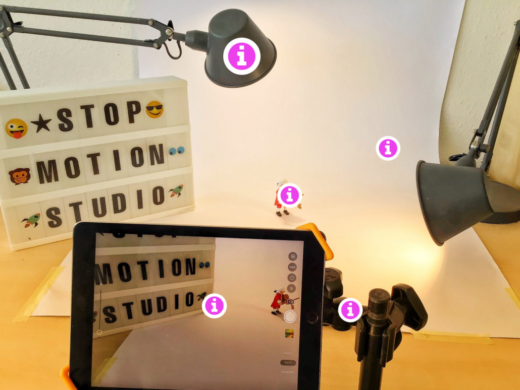 Online-Fortbildung Stop Motion Video im Unterricht