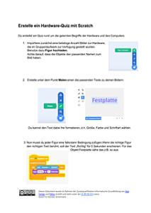 Scratch Unterrichtsmaterialien für die Schule Informatikunterricht