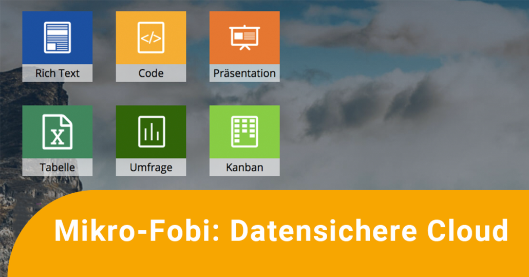 Mikro-Fobi: Datensichere Cloud CryptPad