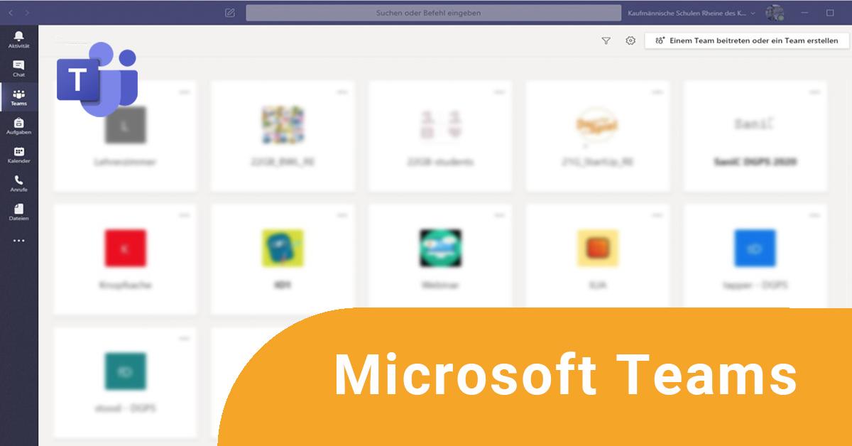 Online-Fortbildung Microsoft Teams