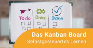 Das Bild zeigt ein Kanban-Board mit den Spalten: Todo, Doing und Done.