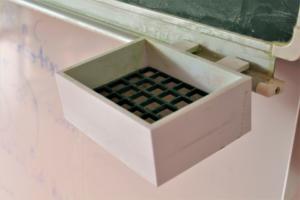 Eine Halterung für einen Tafelschwamm aus dem 3D Drucker