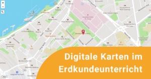 Abbildung einer digitalen Karte
