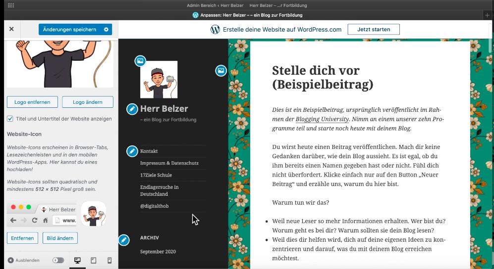Biespielblog Herr Belzer