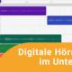 """Teaserbild zur Online-Fortbildung """"Digitale Hörspiele im Unterricht"""""""