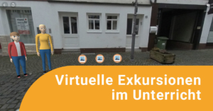 """Teaserbild zur Fortbildung """"Virtuelle Exkursionen im Unterricht"""""""