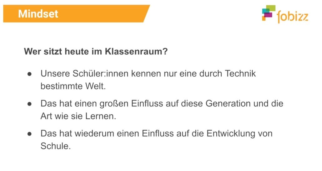 """Screenshot aus der Fobi """"Tipps für digitalen Unterricht"""""""
