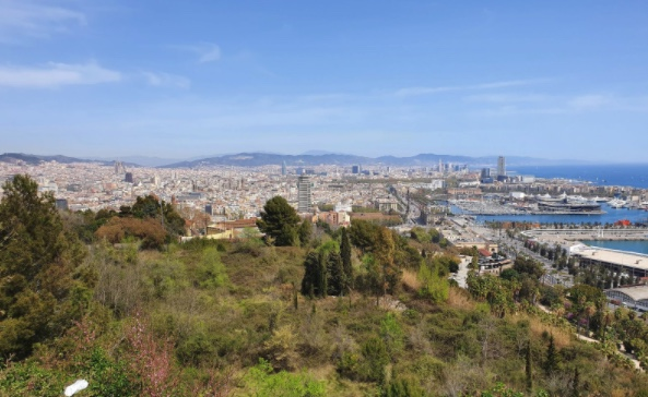 Ausblick Barcelona
