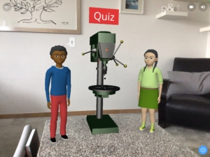 Saulenbohrmaschine: virtuelle Tour