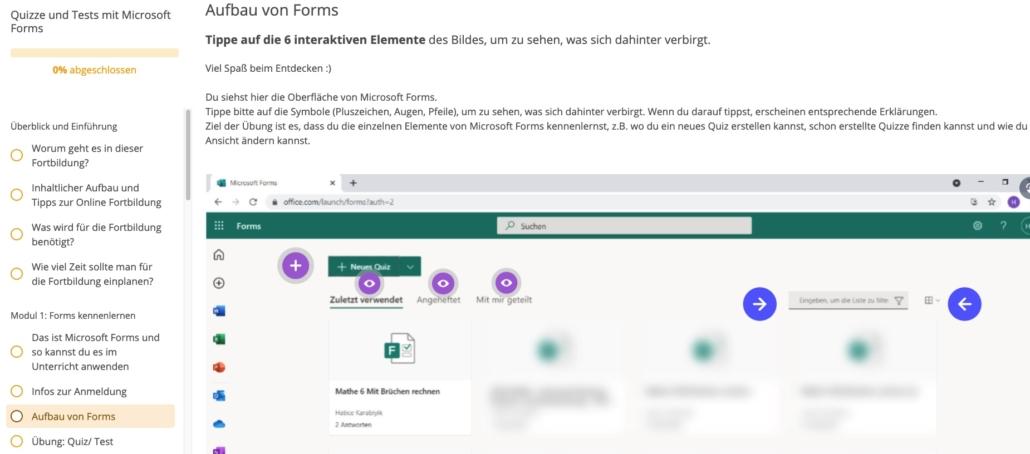 Forms Screenshot
