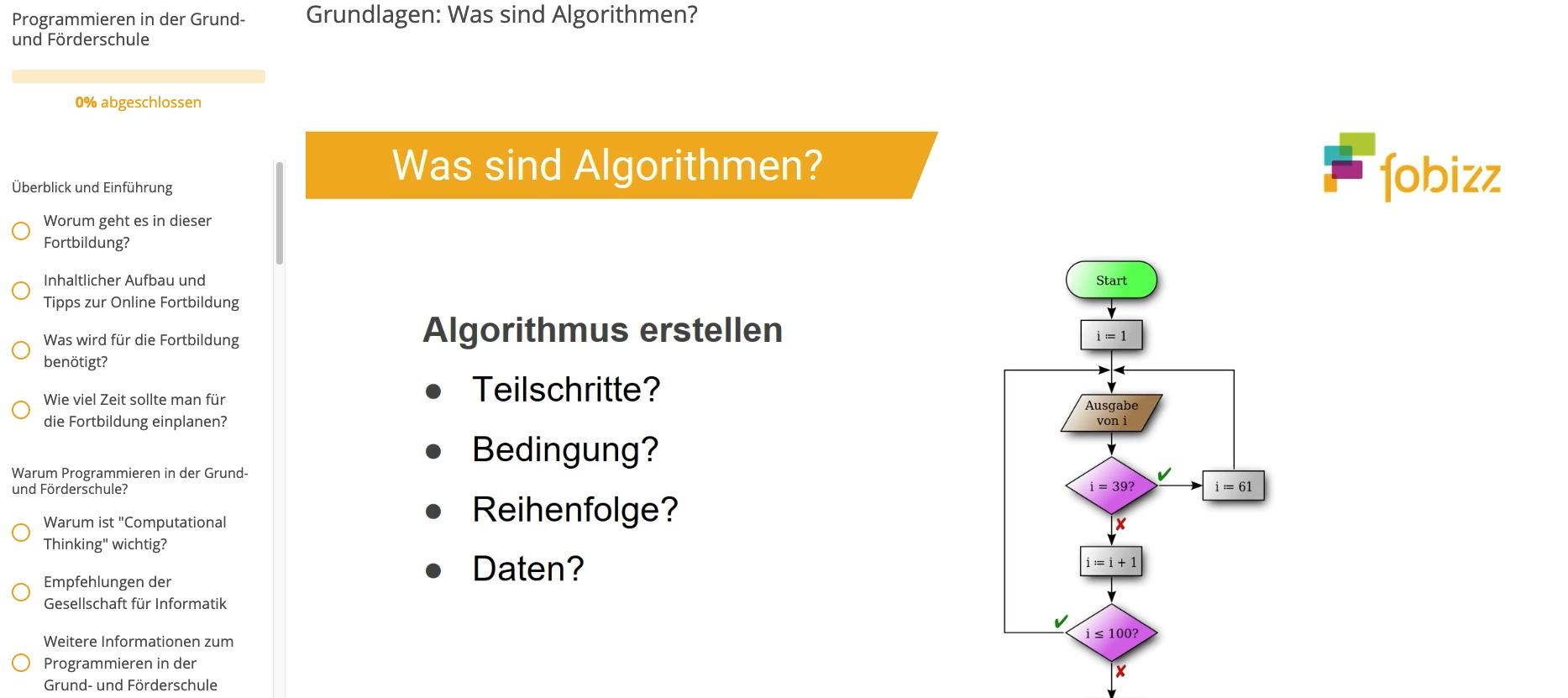 Programmieren Grundschule